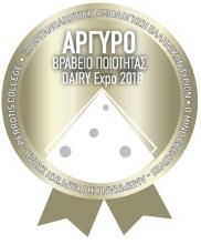 SILVER AWARD FOR MANOURI PDO AT THE Dairy Expo 2018  (ATHENS)