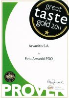 Great Taste Award 2011 for our Feta