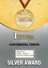 Silver Award in Barel Feta at Nantwich 2012